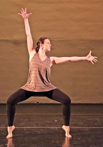 Institute of Dance Artistry (IDA) teacher Rebecca Inman.