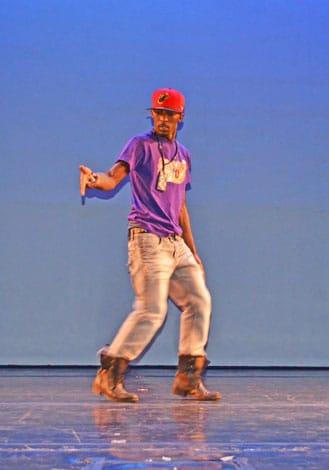 Institute of Dance Artistry (IDA) teacher Dominick Boyd.