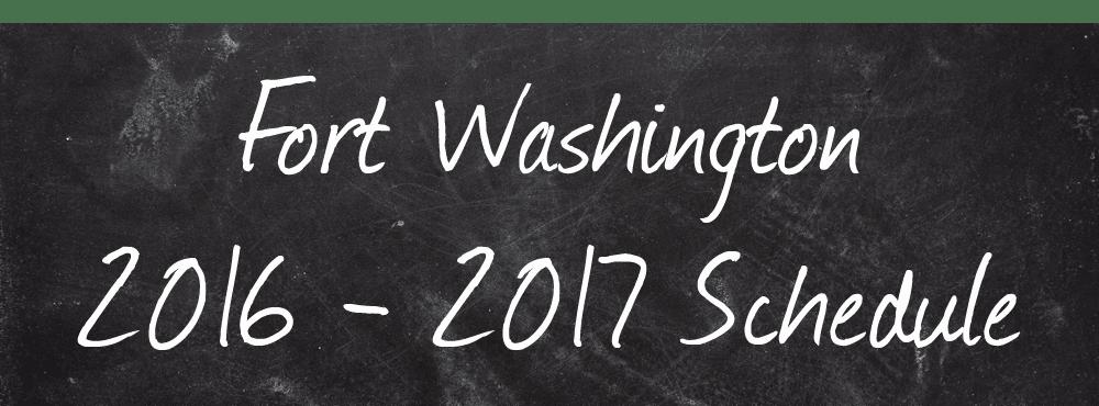 Download the Institute of Dance Artistry's (IDA) Fort Washington studio class schedule for 2016 - 2017.